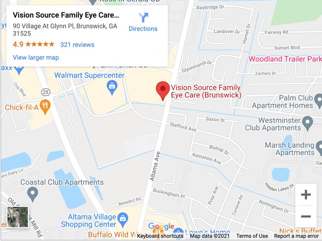 Eye Doctor Brunswick GA